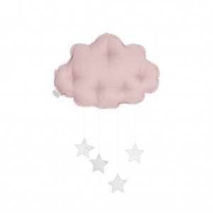 Linen cloud mobile dusty pink