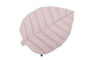 Leaf play mat dusty pink