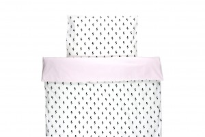 Duvet cover Lighting Bolts With Pastel Pink