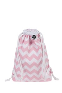 Backpack Pink Chevron