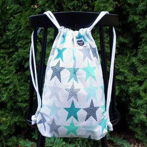 Backpack Mint Stars